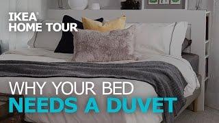 Duvet Covers & Bedding Ideas – IKEA Home Tour