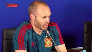 Tin Thể Thao 24h Hôm Nay (21h - 20/6): Iniesta Tự Tin Tây Ban Nha Sẽ Làm Gỏi Iran Giành Trọn 3 Điểm