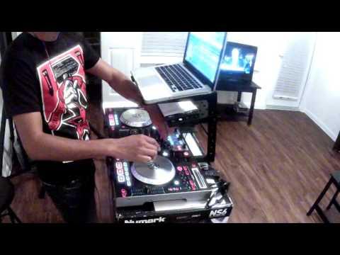 "Electro Progressive Mix 3 (DJ Aurora) ""Live"" (HD) Numark NS6"