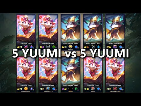 5 YUUMI vs 5 YUUMI! One for All IS BACK!