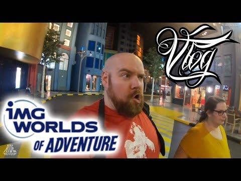 Noch ein Super Helden Freizeitpark – IMG Worlds of Adventure – Vlog