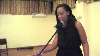 NTV Kenya's Victoria Rubadiri Inspires at AIESEC Daystar Gala Dinner 2014.