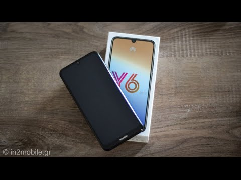 Huawei Y6 2019 First Look [Greek]
