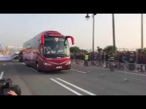 Supercopa de España: El Sevilla FC Llega al Grand Stade de Tánger