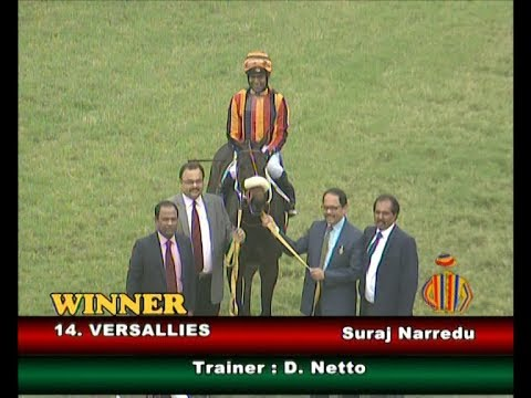 Versallies with Suraj Narredu up wins The Allez Vite Plate 2019