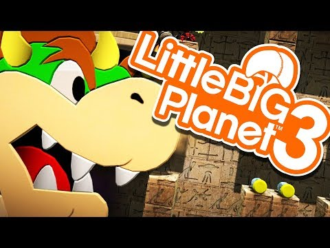 LittleBigPlanet 3 - THE RACE TO BE MARIO! - Little Big Planet 3