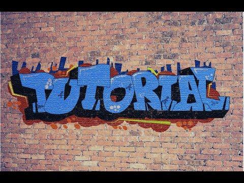 How to Create Graffiti in Adobe Photoshop  | chaviv design