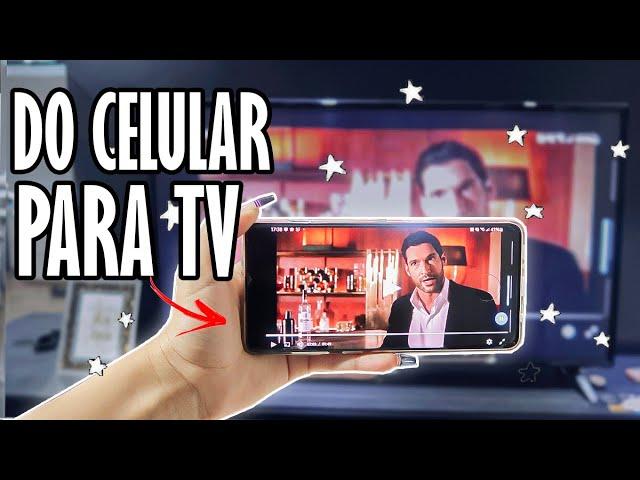 COMO ESPELHAR A TELA DO SEU CELULAR NA TV