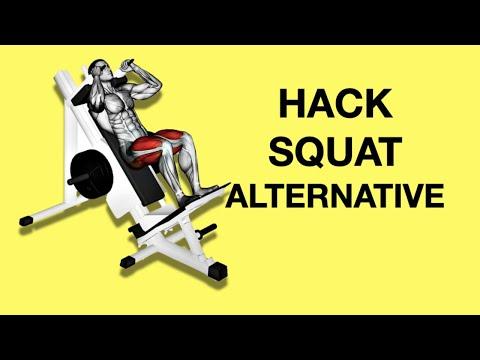 Hack Squat Alternative (Barbell & Landmine Hack Squat)