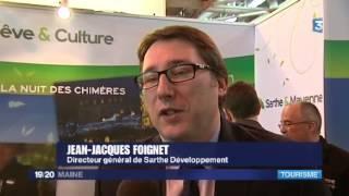 La Sarthe et la Mayenne au salon mondial du tourisme