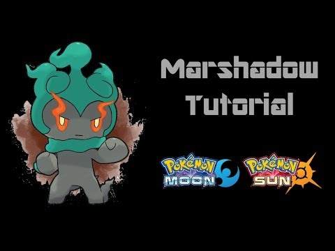 How To Get Marshadow In Pokemon Without A Code