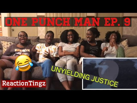 ONE PUNCH MAN   1x9   UNYIELDING JUSTICE GROUP REACTION !!