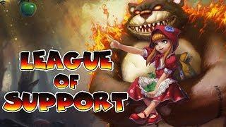 ¿Como ser un buen support, si tu adc es malo? | League of Support #2