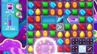 Candy Crush Soda Saga Level 607 (3 Stars)