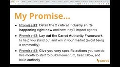 "FREE ""Authority Builder"" TRAINING: Replace Zillow, Attract The Best, Most Qualified"