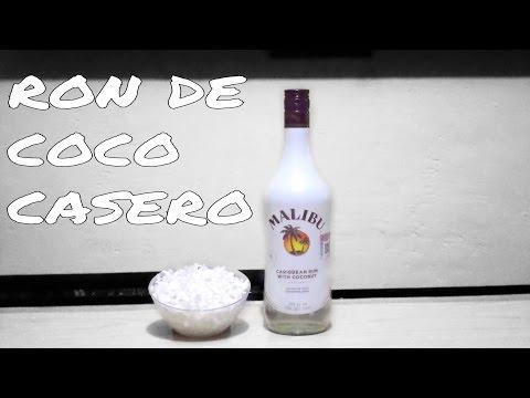 Ron De Coco Casero / Homade Malibu - Tragos y Cócteles/Cocktails & Shots