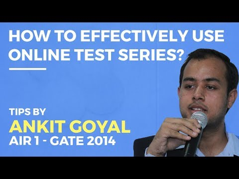 How to effectively use Online Test Series | GATE 2018 | All Branches