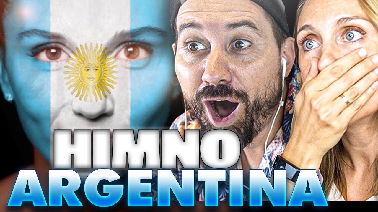 ESPAÑOLES REACCIONAN al HIMNO de ARGENTINA 🇦🇷 *PRIMERA VEZ*