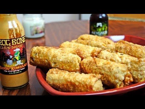 Shrimp & Andouille Jambalaya Rolls ~ Recipe