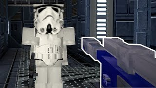 Minecraft But It's Star Wars