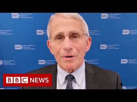 Dr Fauci urges Americans to get Covid vaccine as US daily death toll rises - BBC News