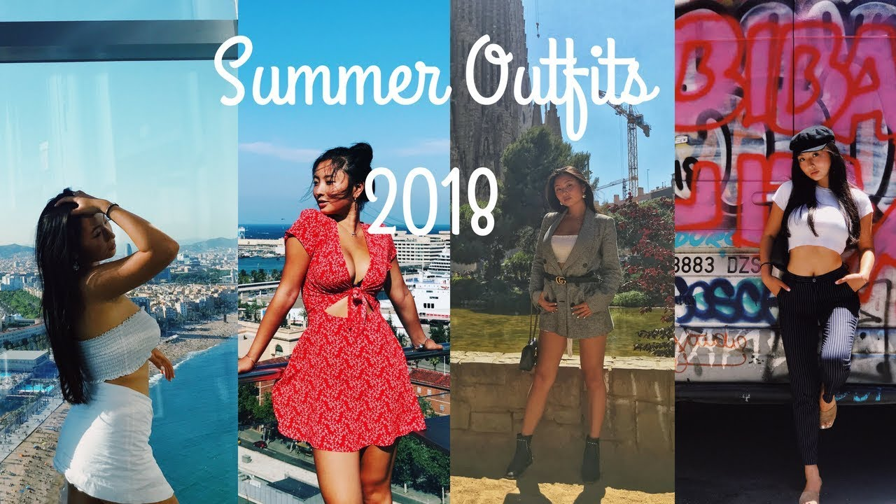 Summer Outfit Lookbook 2018 - @ Barcelona, Spain || Instagram Trendy Outfit Ideas 8