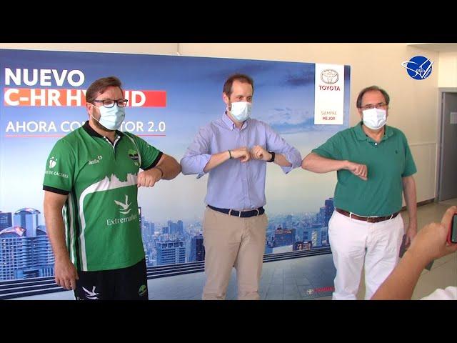 Cáceres Patrimonio de la Humanidad (LEB Oro 20/21): Presentación de Roberto Blanco
