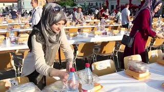 Ramadan Iftar in Bosnia | افطار جماعي في البوسنيا