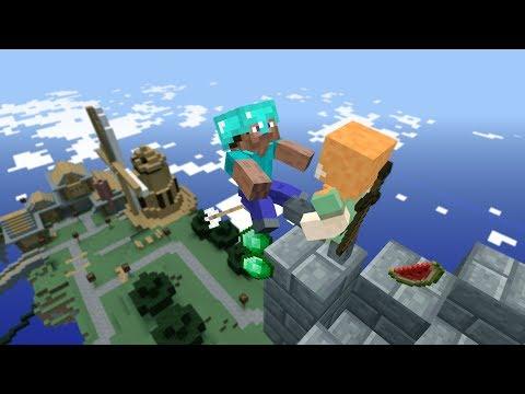 Garrys Mod not ordinary ragdolls / Epic Fails [MOD: Minecraft]