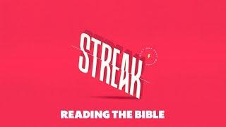 Streak Week 2 -  Reading The Bible