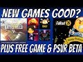 NEW PS4 GAMES - FREE PS4 HITMAN 2 Prologue & FREE PSVR GAME   Snoop Dogg