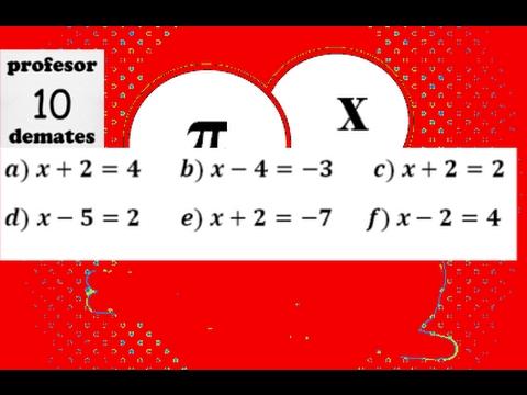 Ecuaciones De Primer Grado Paso A Paso Ejercicios Resueltos 01 Youtube