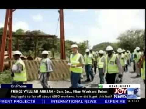 Anglogold retrenchment -  Today Big Story on Joy news (23-5-14)