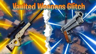 Be Invisible and get Vaulted Weapons! (Fortnite Creative Glitch)