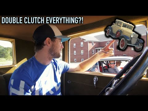 Why Driving a 1930's Ford Model A Is So Insanely Difficult!