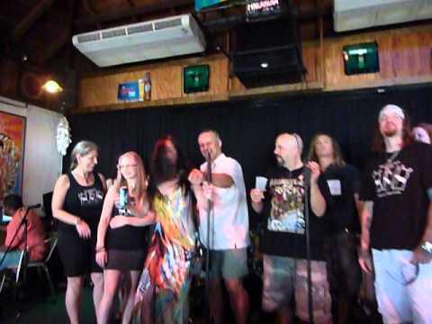 "MARR  Karaoke ""Crazy Train"" Crazy Johnnies, Bahamas, 3/30/14"