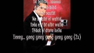Fadel Shaker- Ya Ghayeb Lyrics