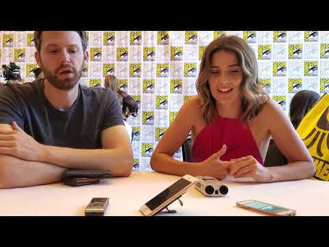 "Cobie Smulders And David Bernad ""Stumptown"" Interview At Comic-Con"