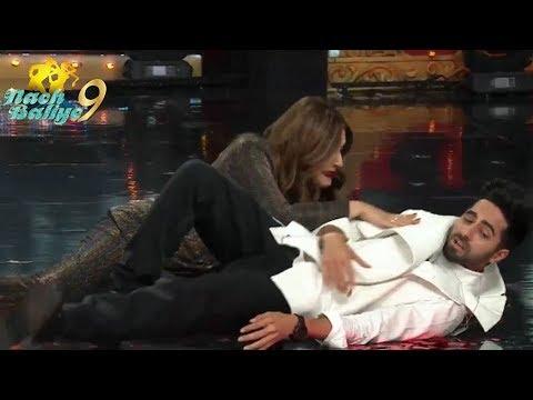 Nach Baliye 9: Ayushmann Khurrana dances with Raveena  wearing heels  'Tip Tip Barsa Pani', video Mp3