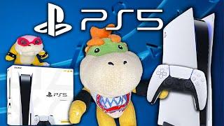 Bowser Junior's PS5! - Super Mario Richie