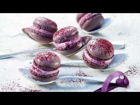 macarons-violets---recette-au-four-de-betty-bossi