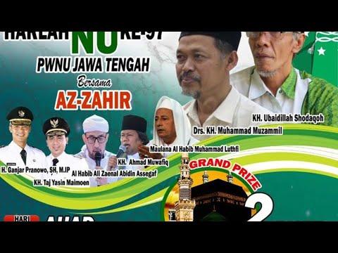 Jateng Bersholwat Bersama AZZAHIR - Live Simpang 5 Semarang