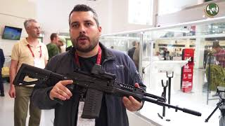 Kalashnikov AK-200 series assault rifles and AM-17 compact assault rifle Army-2018