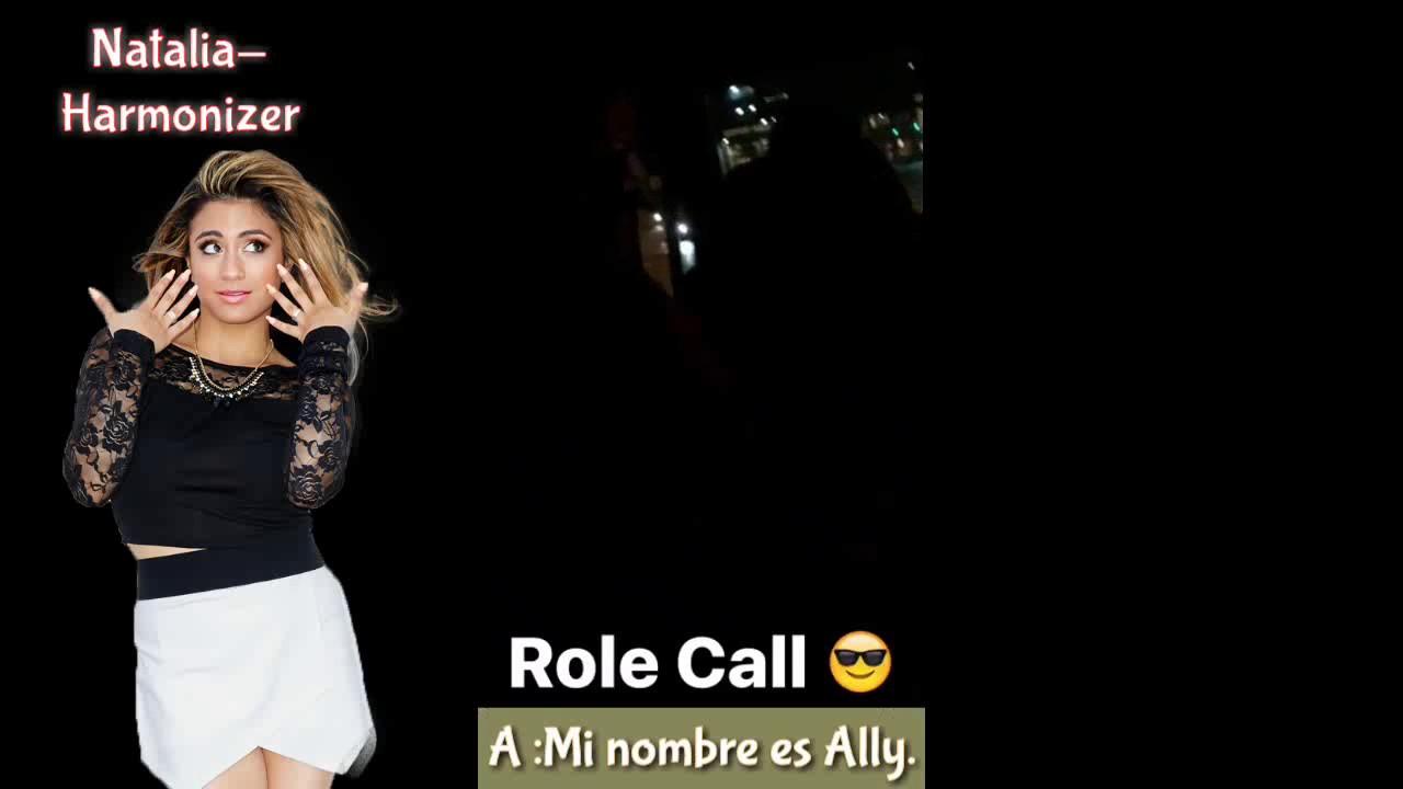 Fifth Harmony Role Call (SUB ESPAÑOL) |Dinah Instagram Story (5 de diciembre 2016)