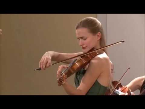 Laura Zarina plays Violin Concerto by Janis Kalnins
