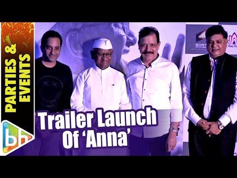 Anna Hazare | Govind Namdev | Anna Trailer Launch
