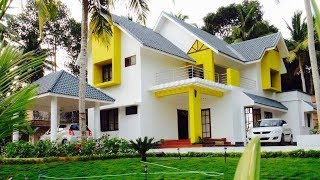 Small Modern Double Floor House 1300 Sft for 13 Lakh  Elevation Interiors  || Smart Home Plans ||