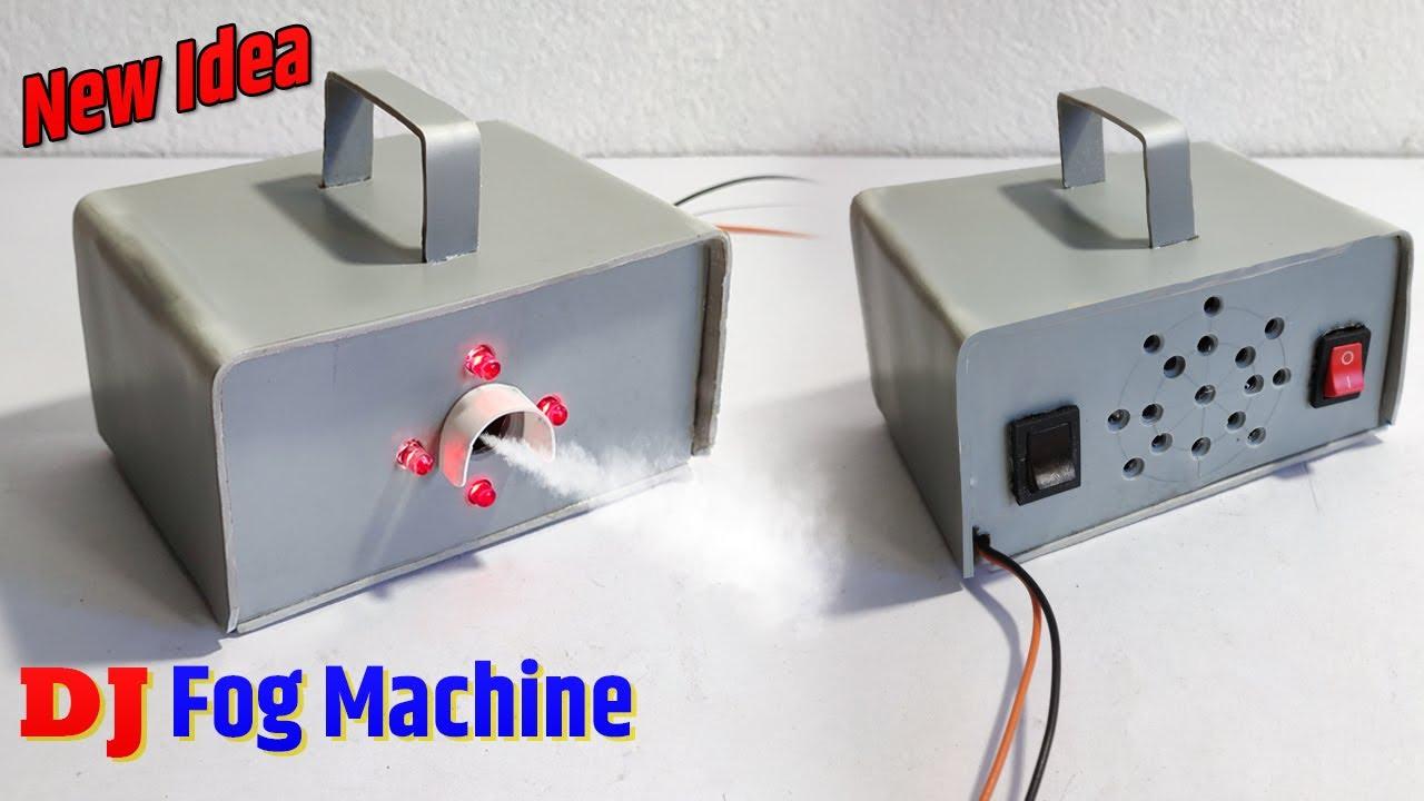 How to Make DJ Fog Machine At Home | Fog Generator कैसे बनाये | Powerful Smoke Machine Dj