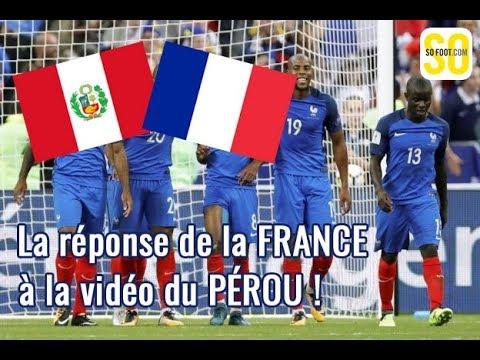 La réponse de la France (enfin SO FOOT) au Pérou.