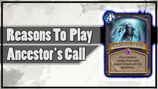 Hearthstone: Reasons To Play - Ancestor's Call